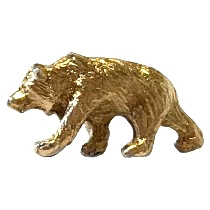 California State Parks Grizzly Bear Pin
