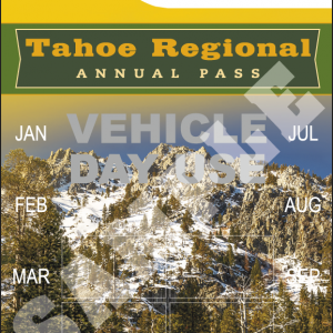 Tahoe Regional Vehicle Day Use Pass 2021