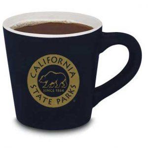 California State Parks Ceramic Mug, Black