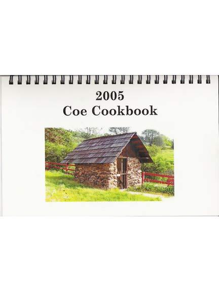 Coe Cookbook, Henry Coe State Park