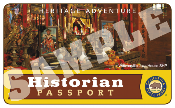 Historian Passport Day Use Admission Annual Pass 2021