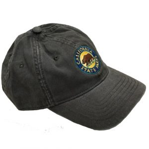 California State Parks Embroidered Baseball Hat, Olive
