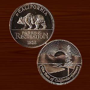 California State Parks Medallion-0
