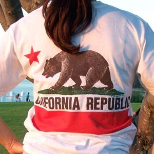 California Republic Organic T-Shirt