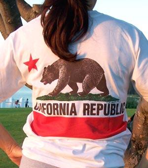 California Republic Organic T-Shirt