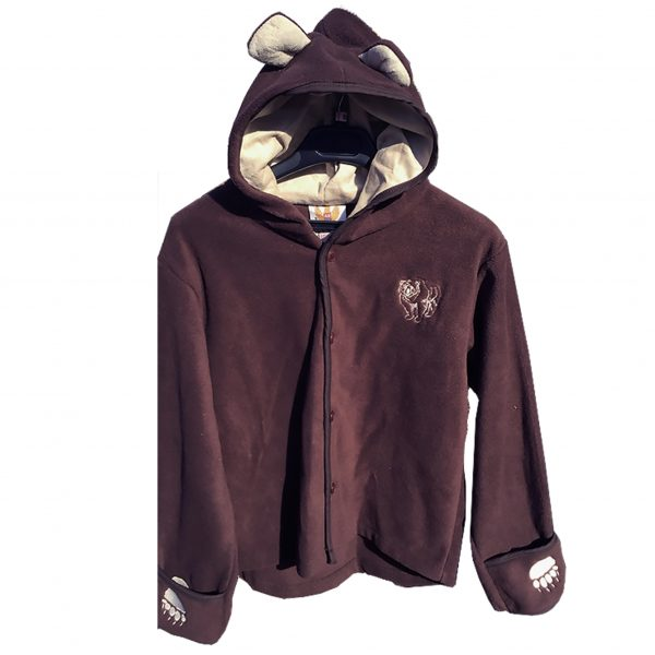 California State Parks Youth Bear Fleece Jacket