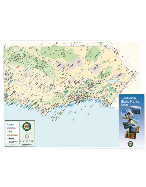 California State Parks Statewide Map