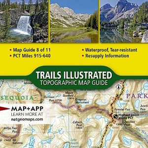 National Geographic Pacific Crest Trail, Sierra Nevada South